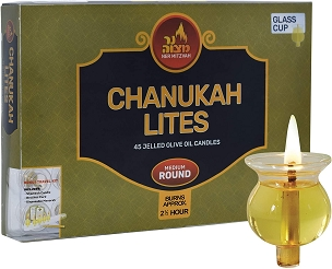 Chanukah Lites ROUND MEDIUM