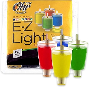 E-Z Light Color PLASTIC CUPS  2.5 Hours