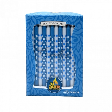 Star of David Chanukah Candles 45 pk.