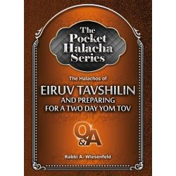 The Halachos of Eiruv Tavshilin and Preparing for a Two Day Yom Tov: The Pocket Halacha Series