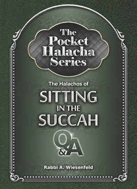 Halachos Of Sitting in the Succah: The Pocket Halacha Series